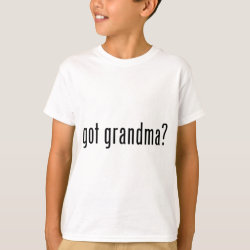 Kids' Hanes TAGLESS® T-Shirt with got grandma? design
