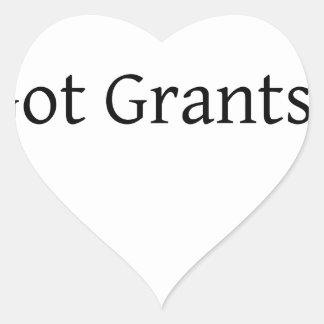 Got Grants? Heart Sticker