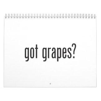 got grapes calendar