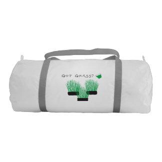 got grass? (wheatgrass) gym bag