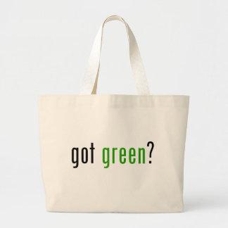 Got Green? Canvas Bags