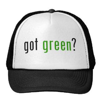 Got Green? Mesh Hats