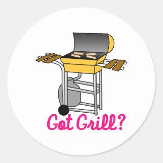 Got Grill? Classic Round Sticker