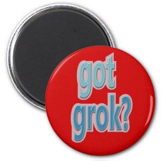 Got Grok? Text Design Magnet