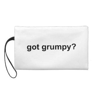 Got Grumpy Wristlet