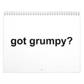 Got Grumpy Calendar