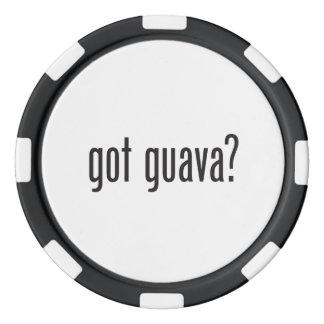 got guava poker chips set