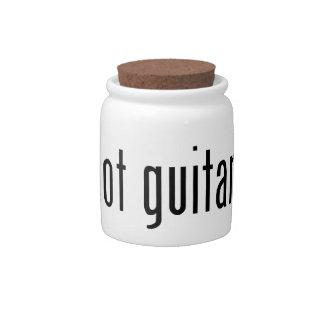 got guitar? candy dish