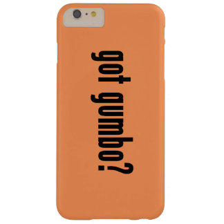 got gumbo? barely there iPhone 6 plus case