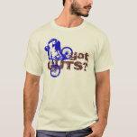 Got GUTS? MTB Cool Design T-Shirt