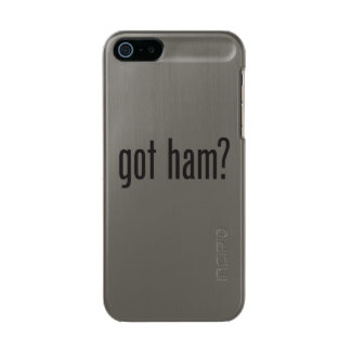 got ham metallic phone case for iPhone SE/5/5s