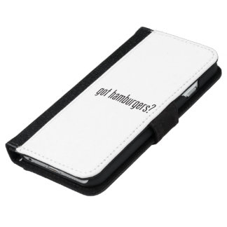 got hamburgers iPhone 6 wallet case