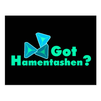 Got Hamentashen? Postcard