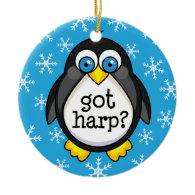 Got Harp (Funny) Ornament