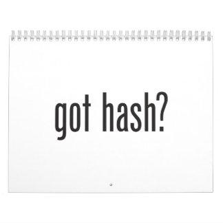 got hash calendar