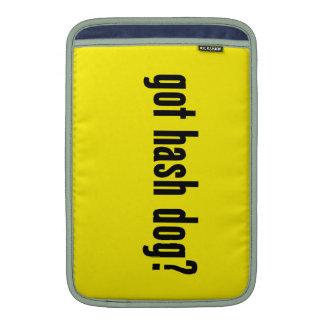 got hash dog? sleeve for MacBook air