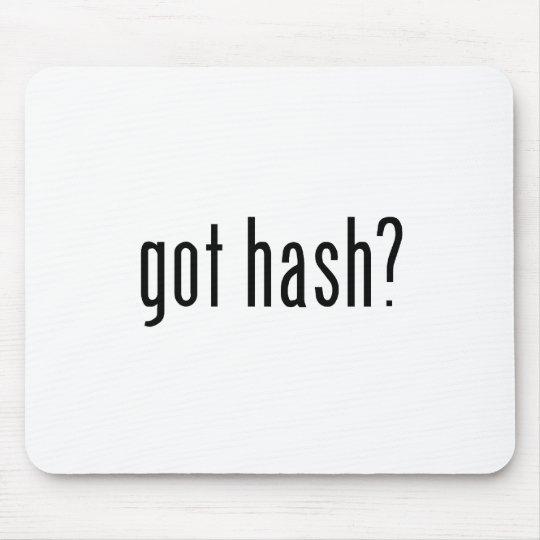 got hash? mouse pad