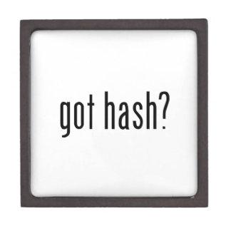 got hash? premium keepsake box