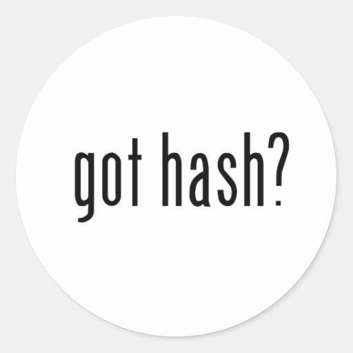 got hash? sticker
