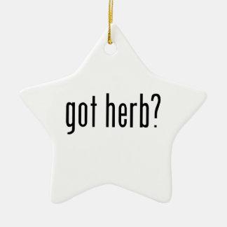 got herb? christmas ornaments