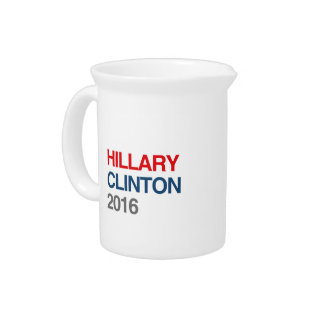 GOT HILLARY CLINTON 2016 DRINK PITCHERS