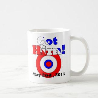 """Got Him"" (May 2nd 2011 ""JusticeDay"") Mug"
