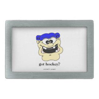 got hockey? rectangular belt buckle