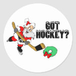 Got Hockey? Round Stickers