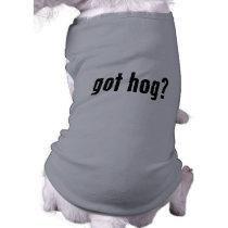 got hog? shirt