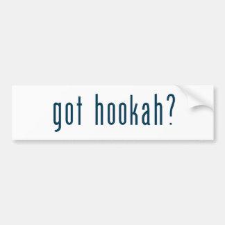 got hookah bumper stickers