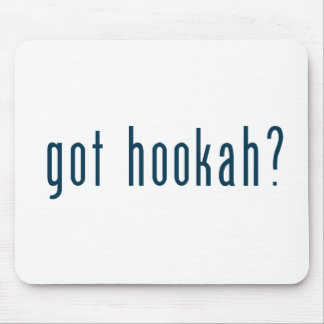 got hookah mouse pad
