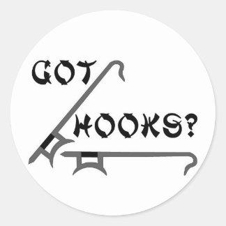 Got Hooks Stickers