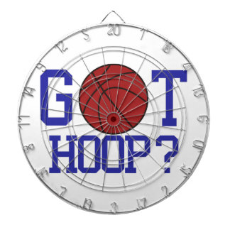 Got Hoop? Dart Board