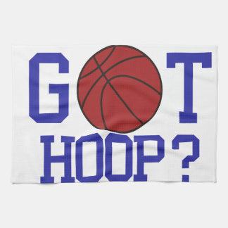 Got Hoop? Hand Towel
