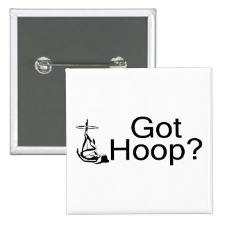 Got Hoop Hula Hoop Girl 2 Inch Square Button