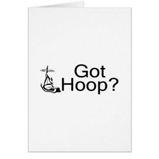 Got Hoop Hula Hoop Girl Card