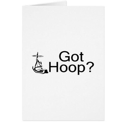 Got Hoop Hula Hoop Girl Greeting Card