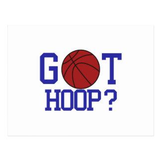 Got Hoop? Postcard