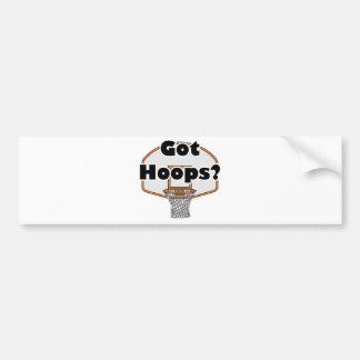 got hoops basketball hoop bumper sticker