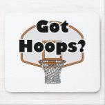 got hoops basketball hoop mouse pad
