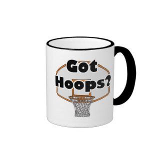 got hoops basketball hoop ringer coffee mug