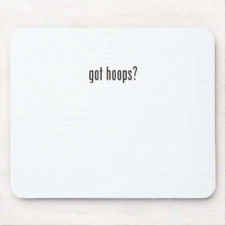 got hoops? mouse pad