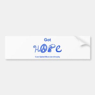 Got Hope - Blue Bumper Sticker