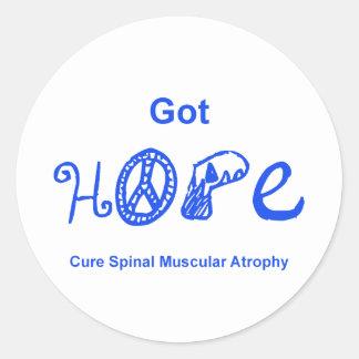 Got Hope - Blue Classic Round Sticker