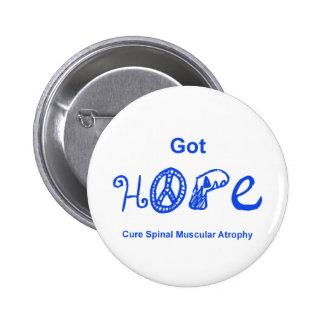 Got Hope - Blue Pinback Button