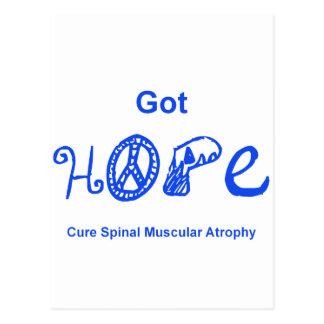 Got Hope - Blue Postcard