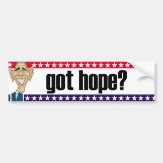 Got Hope? Bumpersticker Car Bumper Sticker
