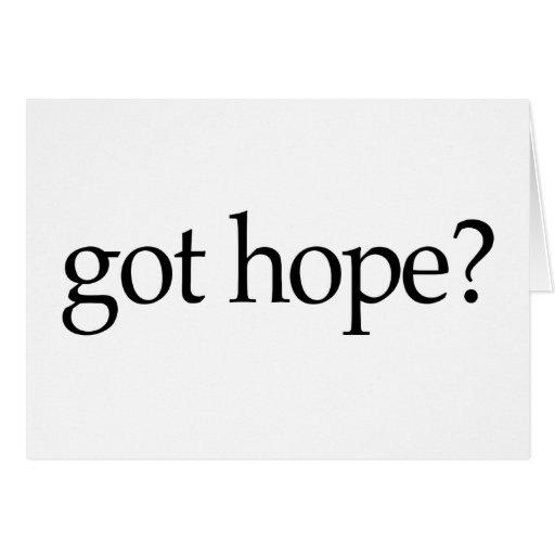Got Hope Card