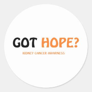 Got Hope Classic Round Sticker
