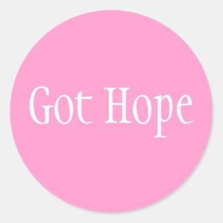 Got Hope - Font 1 Stickers